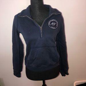ABERCROMBIE & FITCH navy sweatshirt medium